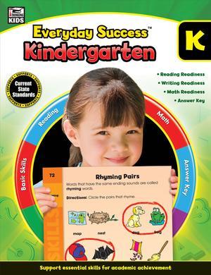 Link to an enlarged image of Everyday Success Kindergarten (Everyday Success) (CSM Workbook)