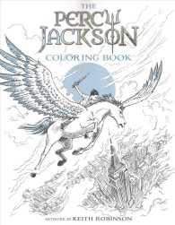Books Kinokuniya The Percy Jackson Coloring Book