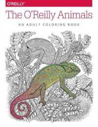 Books Kinokuniya The Oreilly Animals An Adult Coloring Book
