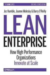 Link to an enlarged image of Lean Enterprise : How High Performance Organizations Innovate at Scale