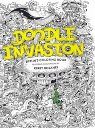 Books Kinokuniya Doodle Invasion Adult Coloring Book Zifflins