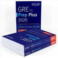 Link to an enlarged image of GRE Complete 2020 : GRE Prep Plus 2020 / GRE Math Workbook / GRE Verbal Workbook (Kaplan Test Prep) (PCK Paperback + PS)