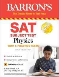 Link to an enlarged image of Sat Subject Test Physics : With Online Tests (Barron's Sat Subject Test Physics) (4th)