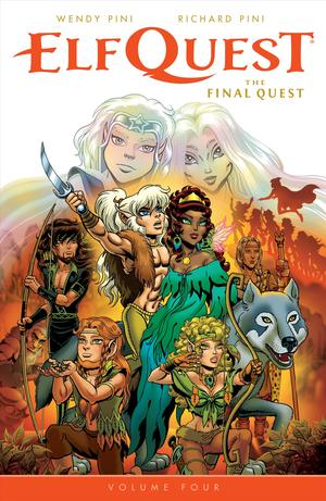 Link to an enlarged image of Elfquest 4 : The Final Quest (Elfquest)