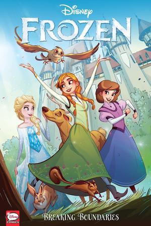 Disney Frozen Breaking Boundaries (Graphic Novel) 9781506710518