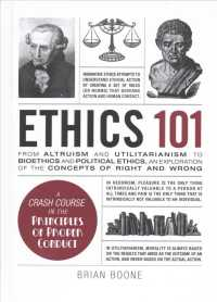 Link to an enlarged image of Ethics 101 : From Altruism and Utilitarianism to Bioethics and Political Ethics, an Exploration of the Concepts of Right and Wrong (Adams 101)