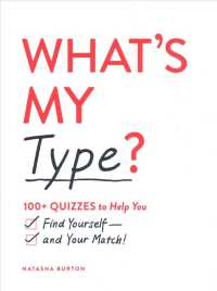 Link to an enlarged image of What's My Type? : 100+ Quizzes to Help You Find Yourselfand Your Match!