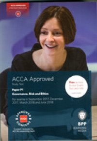Link to an enlarged image of Acca P1 Governance, Risk and Ethics : Study Text -- Paperback (5th ed.)