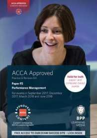 Link to an enlarged image of Acca F5 Performance Management : Practice and Revision Kit -- Paperback