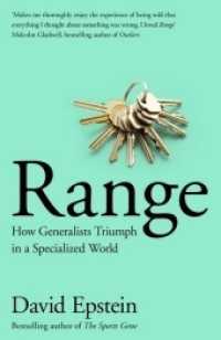 Range -- Paperback 9781509843503