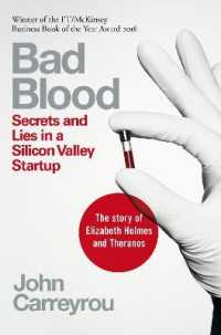 image of Bad Blood : Secrets and Lies in a Silicon Valley Startup -- Paperback / softback