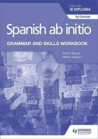 Link to an enlarged image of Spanish ab initio for the IB Diploma Grammar and Skills Workbook (Workbook)
