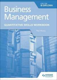 Link to an enlarged image of Business Management for the Ib Diploma : Quantitative Skills Workbook (Workbook)