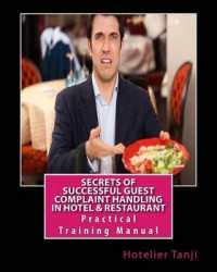 Books Kinokuniya: Secrets of Successful Guest Complaint Handling in