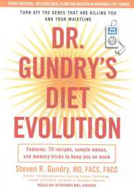Link to an enlarged image of Dr. Gundry's Diet Evolution : Turn Off the Genes That Are Killing You and Your Waistline (1st MP3 Unabridged)