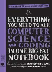 Link to an enlarged image of Everything You Need to Ace Computer Science and Coding in One Big Fat Notebook : The Complete Middle School Study Guide (Everything You Need to Ace) (Study Guide)