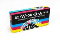 Link to an enlarged image of Rewordable : The Uniquely Fragmented Word Game (BOX GMC CR)