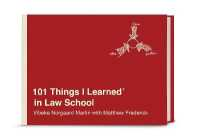 Link to an enlarged image of 101 Things I Learned in Law School (101 Things I Learned)