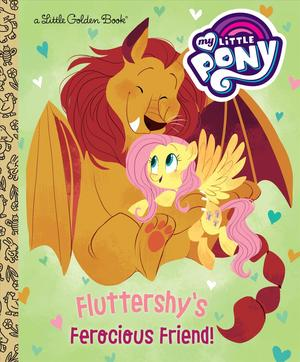 Link to an enlarged image of Fluttershy's Ferocious Friend (Little Golden Books)