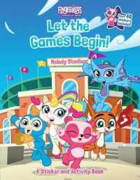Link to an enlarged image of Fingerlings Let the Games Begin! : A Sticker and Activity Book (Fingerlings) (ACT CSM ST)