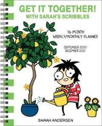 Link to an enlarged image of Sarah's Scribbles Weekly/Monthly Planner 2020-2021 Calendar : Get It Together! (16M EGMT)