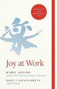 Link to an enlarged image of Joy at Work : Organizing Your Professional Life -- Hardback