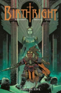 Link to an enlarged image of Birthright 5 : Belly of the Beast (Birthright)