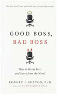Link to an enlarged image of Good Boss, Bad Boss : How to Be the Best... and Learn from the Worst -- Paperback (English Language Edition)