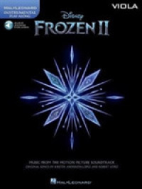 Link to an enlarged image of Frozen 2 Viola Play-Along : Viola - Includes Downloadable Audio (Paperback + Pass Code)