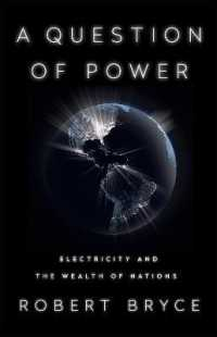 Link to an enlarged image of A Question of Power : Electricity and the Wealth of Nations -- Paperback / softback