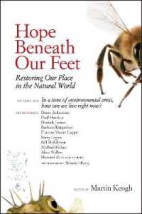 Link to an enlarged image of Hope Beneath Our Feet : Restoring Our Place in the Natural World; an Anthology (Io Poetry)