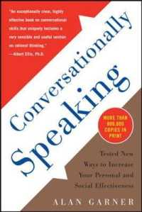 Link to an enlarged image of Conversationally Speaking : Tested New Ways to Increase Your Personal and Social Effectiveness (3rd Subsequent)