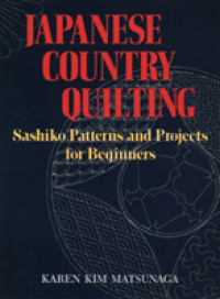 Link to an enlarged image of Japanese Country Quilting : Sashiko Patterns and Projects for Beginners