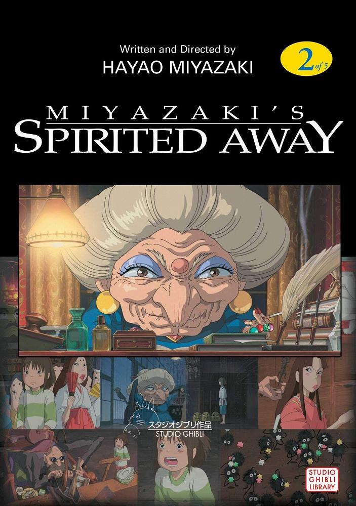 Link to an enlarged image of Spirited Away Film Comics 2 (Spirited Away)
