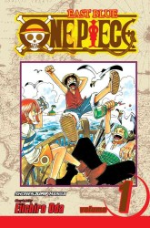 Link to an enlarged image of One Piece 1 : Romance Dawn (One Piece (Graphic Novels)) <1>