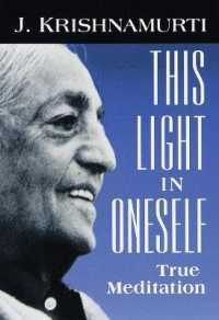 Link to an enlarged image of This Light in Oneself : True Meditation