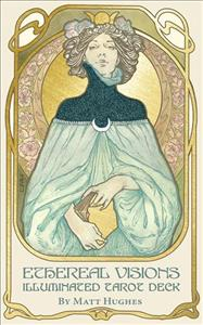 Link to an enlarged image of Ethereal Visions Illuminated Tarot Deck (BOX TCR CR)