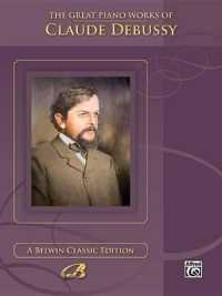 Link to an enlarged image of Great Piano Works of Claude Debussy (00-0034B)