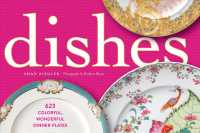 Link to an enlarged image of Dishes : 623 Colorful Wondrful Dinner Plates