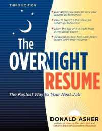 Link to an enlarged image of The Overnight Resume (3rd)