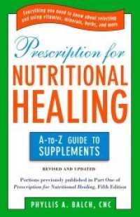 Link to an enlarged image of Prescription for Nutritional Healing : The A-to-Z Guide to Supplements