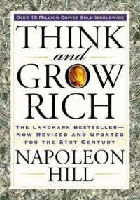 Link to an enlarged image of Think and Grow Rich : The Landmark Bestseller--Now Revised and Updated for the 21st Century (Revised Expanded)