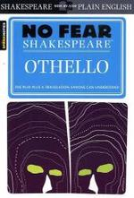 Link to an enlarged image of Sparknotes Othello (No Fear Shakespeare)