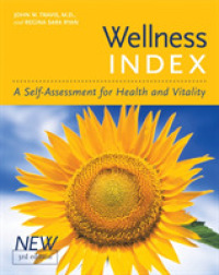 Link to an enlarged image of Wellness Index : A Self-Assessment of Health and Vitality (3rd)