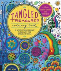 Books Kinokuniya Tangled Treasures Adult Coloring Book 52
