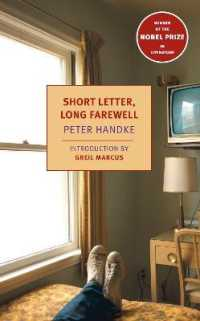 Link to an enlarged image of Short Letter, Long Farewell (New York Review Books Classics)