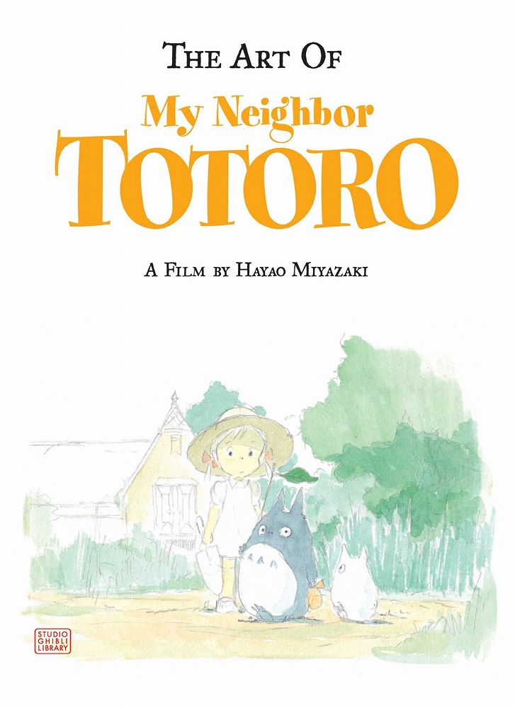 Link to an enlarged image of The Art of My Neighbor Totoro (A Bitter Creek Novel)