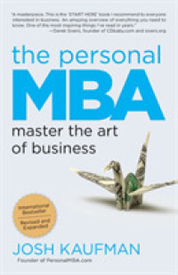 Link to an enlarged image of The Personal MBA : Master the Art of Business (Reprint)