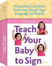 Link to an enlarged image of Teach Your Baby to Sign Deck (BOX RFC CR)