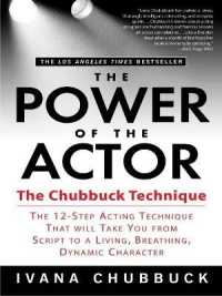 Link to an enlarged image of The Power of the Actor : The Chubbuck Technique (Reprint)